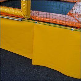 Protezione base tappeto elastico professionale Pro One