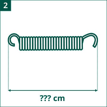 Schema lunghezza delle molle a valutare
