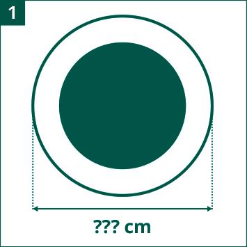 Schema diametro du trampoline de loisirs a valutare