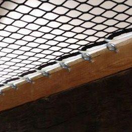 Sistema di fissaggio per rete interni