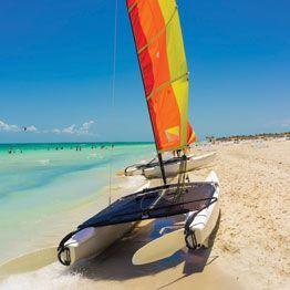 Trampolino per catamarano sportivo Hobie Cat